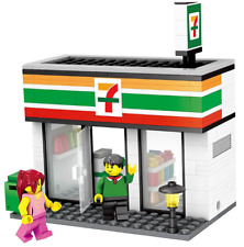 "Lego Compatible ""Retail Store"" Builing Blocks - 7-11 Store"