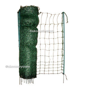 50m Hotline Poultry Net 1.1m - High Quality Electric Netting - Chicken Fencing