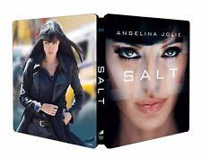 Salt Angelina Jolie - Blu Ray Steelbook [Italy] Limited Edition! Region Free!