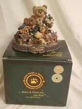 """Boyds Bears """"From Our Home To Yours"""" Limited Edition 1999 Bearstone Collection"""