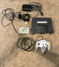 Nintendo 64 N64 Game Console System Bundle. Tested And Working. Super Mario 64