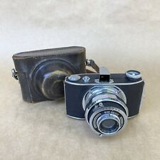 Tsubasa Wing Anchor Vintage 127 Film Camera W/ 75mm 1:6.3 & Leather Case - NICE