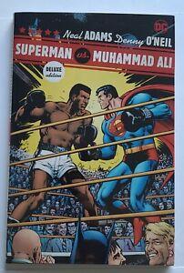 SUPERMAN VS MUHAMMAD ALI DELUXE EDITION HARDCOVER NEAL ADAMS DC COMICS