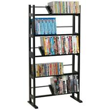 "Atlantic 40"" Element Media Storage Rack (230 CDs, 150 DVDs, 185 BluRays), Espres"