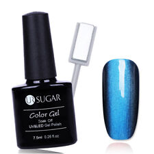 7.5ml Soak Off UV Gel Nail Polish Magnetic Stick Luxurious Jade DIY Kit UR SUGAR