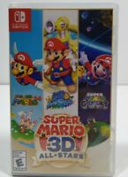 Super Mario 3D All Stars Collection (Nintendo Switch) Physical NEW READY TO SHIP