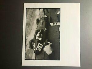 1960 Ferrari F1 Race Car Italian GP Jesse Alexander Photo Print Poster RARE