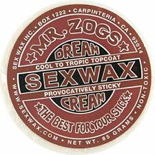 SEX WAX Mr Zogs DREAM CREAM Cool to Mild Tropic Topcoat