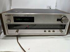 Sony St-3950Sd Am/Fm Hi-Fi Stereo Tuner Working