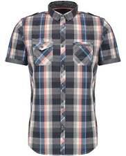 Checked Slim Regular Collar Casual Shirts & Tops for Men