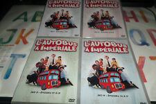 DVD -  L AUTOBUS A IMPERALE L INTEGRALE / LOT DE 4 DVD NEUF SERIE TELE NEUF