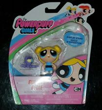 The Powerpuff Girls Bubbles Bulle Action Figure Doll Cartoon Ntw Spin Master NEW