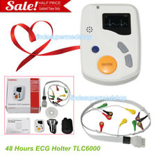 12 Leads ECG Holter System 48 Hours,QTD,VCG,VLP,TVCG Analysis Software Holter