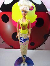 Sindy Ice Cream Doll Vanilla Flavor Yellow Swimsuit Hasbro Ceppiratti 90s Vtg Nm