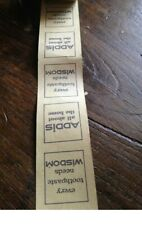 More details for vintage 1977 ticket roll london transport with ads unused addis