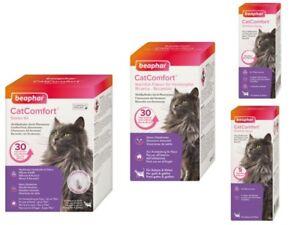 Beaphar CatComfort Pheremone Anti Stress Wohlfühl Entspannung Spray Verdampfer