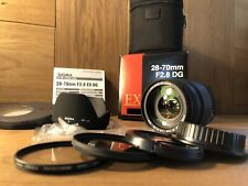 *Almost Unused in Box* Sigma EX 28-70mm F/2.8 DG For Canon EF Mount From Japan