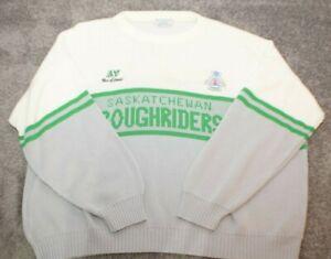 vintage SASKATCHEWAN ROUGHRIDERS  1989 xxl Sweather