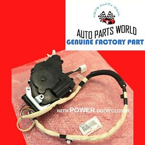 GENUINE LEXUS LS430 DRIVER DOOR LOCK ACTUATOR W/POWER DOOR CLOSER 69120-50030