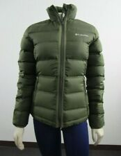 Columbia Womens Mckay Lake 2.0 Down Insulated Jacket - Green Small NWT