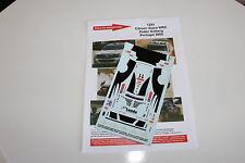DECALS 1/43 CITROEN XSARA WRC SOLBERG RALLYE DU PORTUGAL 2009 RALLY