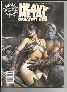 Heavy Metal Magazine 1994 Greatest Hits Special Druuna Corben SC VF 1977 Series