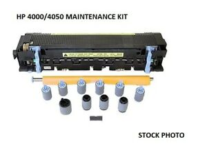 Genuine HP Maintenance Kit for Laser Jet 4000/4050 - Fuser with Rollers