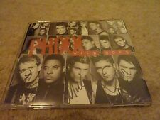 Phixx - Wild Boys - 2 Track CD Single - SIGNED! Popstars Boyband