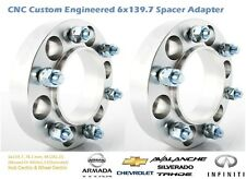 4WD Wheel Spacer Adapters 35 mm 6x139.7, 6x5.5'' 78.1 mm Hub Centric 2PCS
