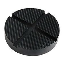 Rubber Jack Pad with Grooves ZHUBANG 125 x 26mm black for Trolly and Lifting Pla