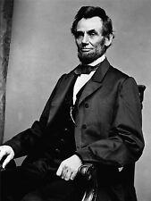 Photographie vintage portrait ABE Abraham Lincoln président Poster art lv11355
