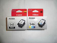 Canon Pg-545 & Cl-546 Orginal OEM Pixma Inkjet Patronen