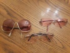 VINTAGE CAZAL EASTERN STATES AND UPSIDE DOWN WOMEN'S SUNGLASSES PRESCRIPTION