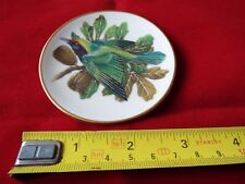 FRANKLIN PORCELAIN SONGBIRDS OF THE WORLD MINI PLATE. #19
