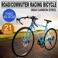 700c Road Bike Kohlenstoffstahl 21 Gang Bicycle Touring Urban Men/Women HOT
