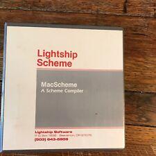 User Guide Lightship Scheme MacScheme A Scheme Compiler