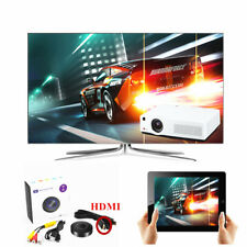 Car Media Miracast Screen Mirroring Dongle TV Stick Digital Wireless HDMI AV RCA