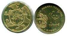 "MALAYSIA 1 RINGGIT "" WWF 50th ANNIVERSARY CELEBRATION "" 2011 COIN UNC"