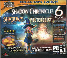 SHADOWS: PRICE FOR OUR SINS Hidden Object SHADOW CHRONICLES 6 PACK PC Game NEW