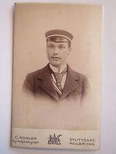 Stuttgart - Corps Suevia - 1897-99 - K. Seltenreich - CDV / Studentika