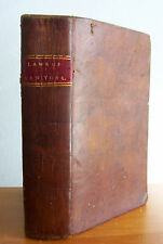 1804 LAWS OF THE STATE OF NEW YORK Vol III, Leather