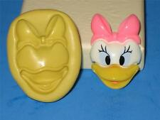 Daisy Duck 2D Silicone Mold Mould Sugarpaste Flower Cup Cake Topper A106 Fondant