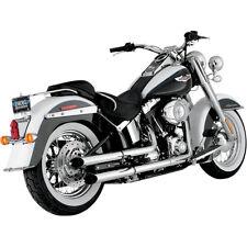 Harley-Davidson Softail Deluxe / Softail Slim Python Slash Cut Slip On Mufflers