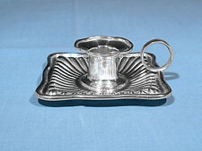 DOMINICK & HAFF STERLING SILVER CHAMBERSTICK ~ MONO KWT
