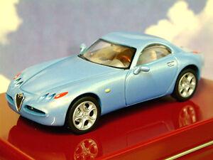 SOLIDO Diecast 1/43 1996 Alfa Romeo Nuvola Concept Coche Azzurro Metálico Cielo