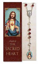 Sacred Heart of Jesus Chaplet  (rosary) NEW (RD047)