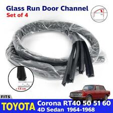 Fits Toyota Corona RT40 RT50 RT60 MARKII Sedan Window Glass Run Channel Felt x4