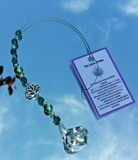30MM CRYSTAL DIAMOND  with LOTUS SUNCATCHER made with Swarovski Elements Crystal