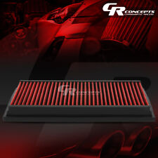 RED WASHABLE HIGH FLOW FILTER FOR 92-11 FORD/LINCOLN CROWN VICTORIA/TOWN CAR