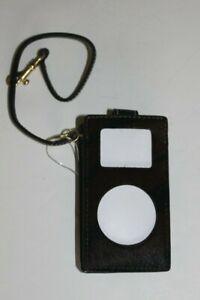 New Coach  iPod Mini Zebra Print Horsehair Case Brown/Black Brass Hardware